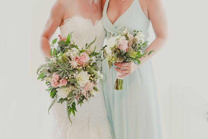 Natural, Romantic Bouquets