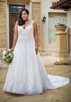Jasmine Couture T222064N A-Line Wedding Dress