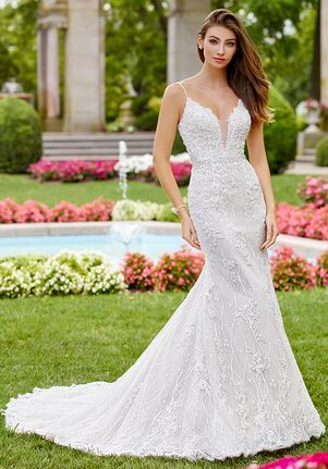 c3bc624157e Martin Thornburg a Mon Cheri Collection 118252 Pavane Mermaid Wedding Dress