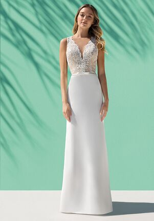 Destination Romance DR244 Sheath Wedding Dress
