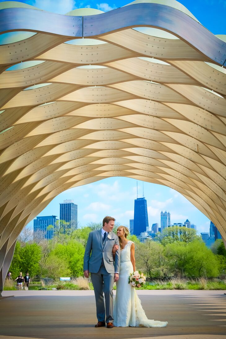 Chicago Bride and Groom Photo