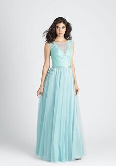 Allure Bridesmaids 1511 Illusion Bridesmaid Dress