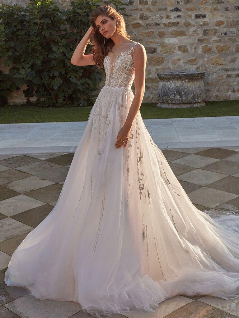 Galia Lahav ballgown with layers of tulle