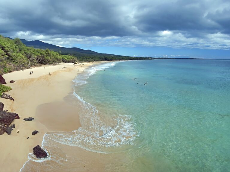 Maui, Hawaii beach honeymoon