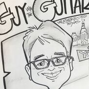 Fort Worth, TX Caricaturist | Caricatures by Guy With the Guitar