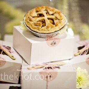 Mini Apple Pie Favors