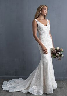 Allure Couture C493 Sheath Wedding Dress
