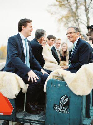 Horse-Drawn Wagon Ride to Reception