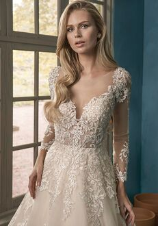 Jasmine Collection F191064 A-Line Wedding Dress