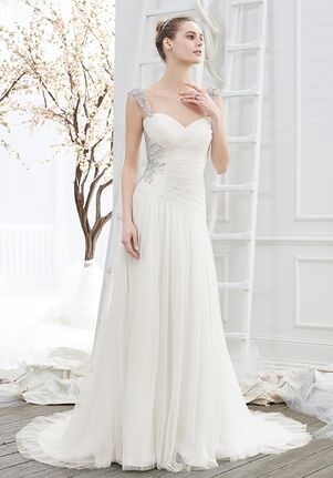 Beloved by Casablanca Bridal BL207 Wish Sheath Wedding Dress