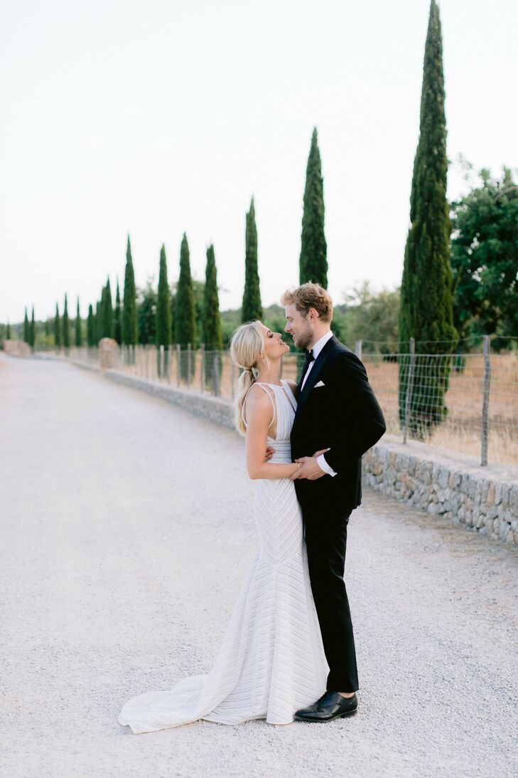 Charlotte and Nick are Australian and currently reside in London, but Mallorca, Spain, was the ideal spot for the couple to celebrate their wedding. A