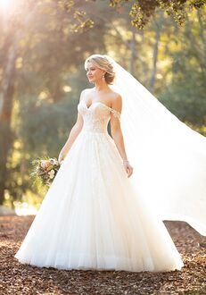 Essense of Australia D2953 Ball Gown Wedding Dress