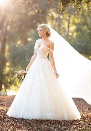 Essense of Australia D2953 Ball Gown Wedding Dress