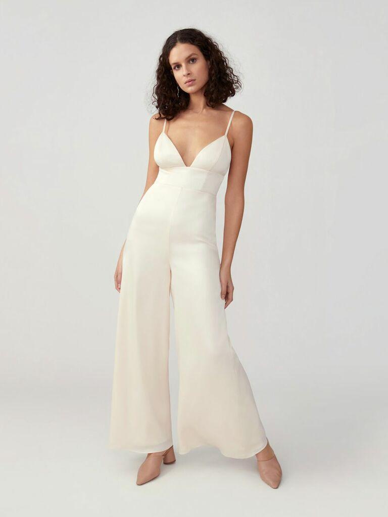 customizable bridal jumpsuit