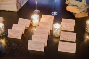 Formal Escort Cards