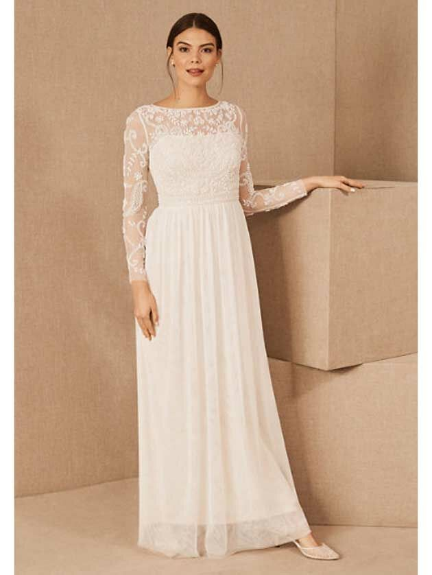 30 Simple Wedding Dresses For Minimalist Brides