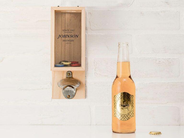wall mounted custom bottle opener