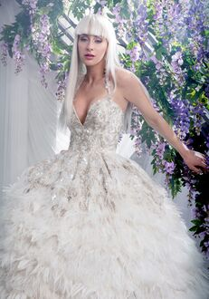 Ysa Makino KYM169 Ball Gown Wedding Dress