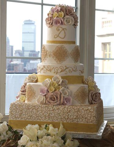 K meister wedding cakes