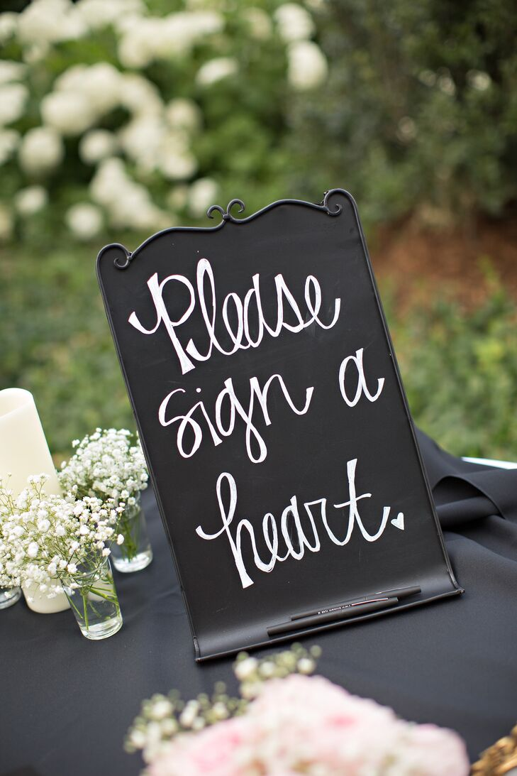 DIY Guest Book Sign