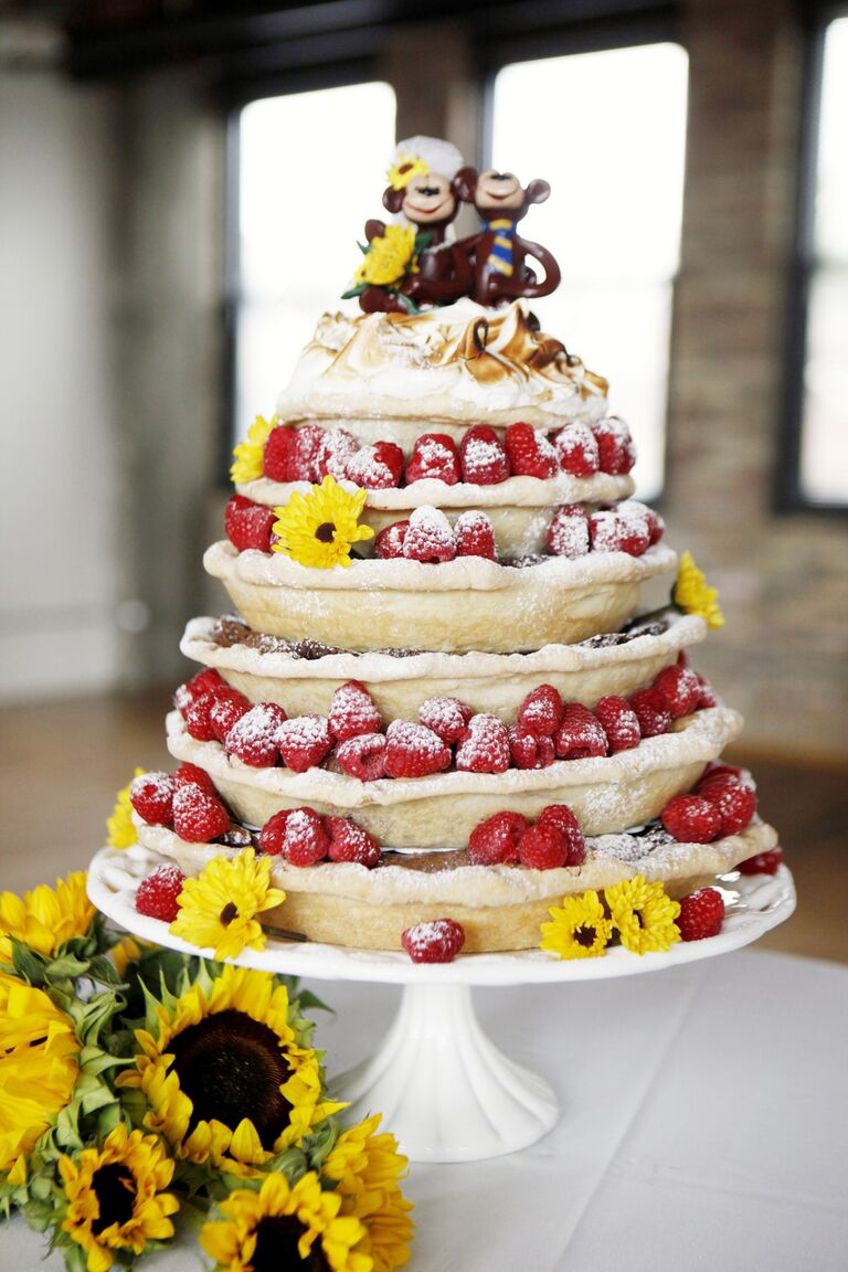 Individual Reception Pies |Personal Pies Wedding