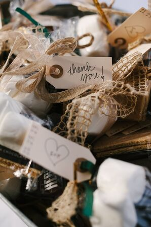 DIY Packaged S'more Favors
