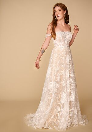 All Who Wander Raven A-Line Wedding Dress