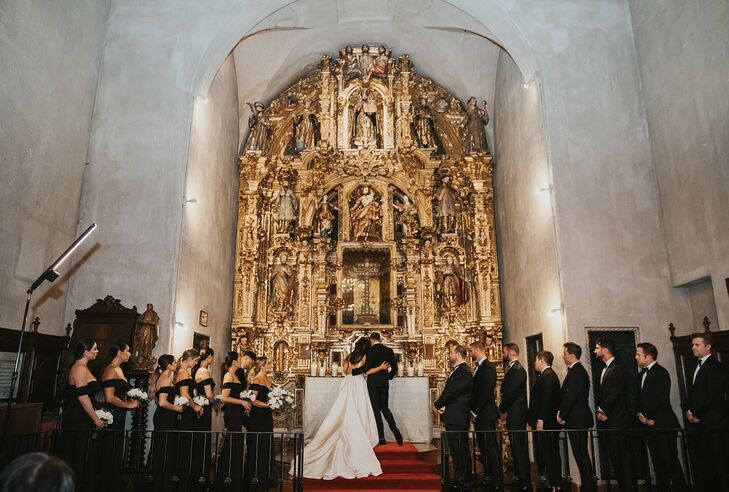 Glamorous Religious Ceremony at The Mission Inn Hotel & Spa in Riverside, California