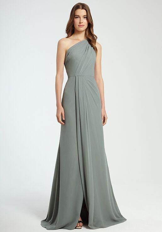 Monique Lhuillier Bridesmaids 450342 One Shoulder Bridesmaid Dress
