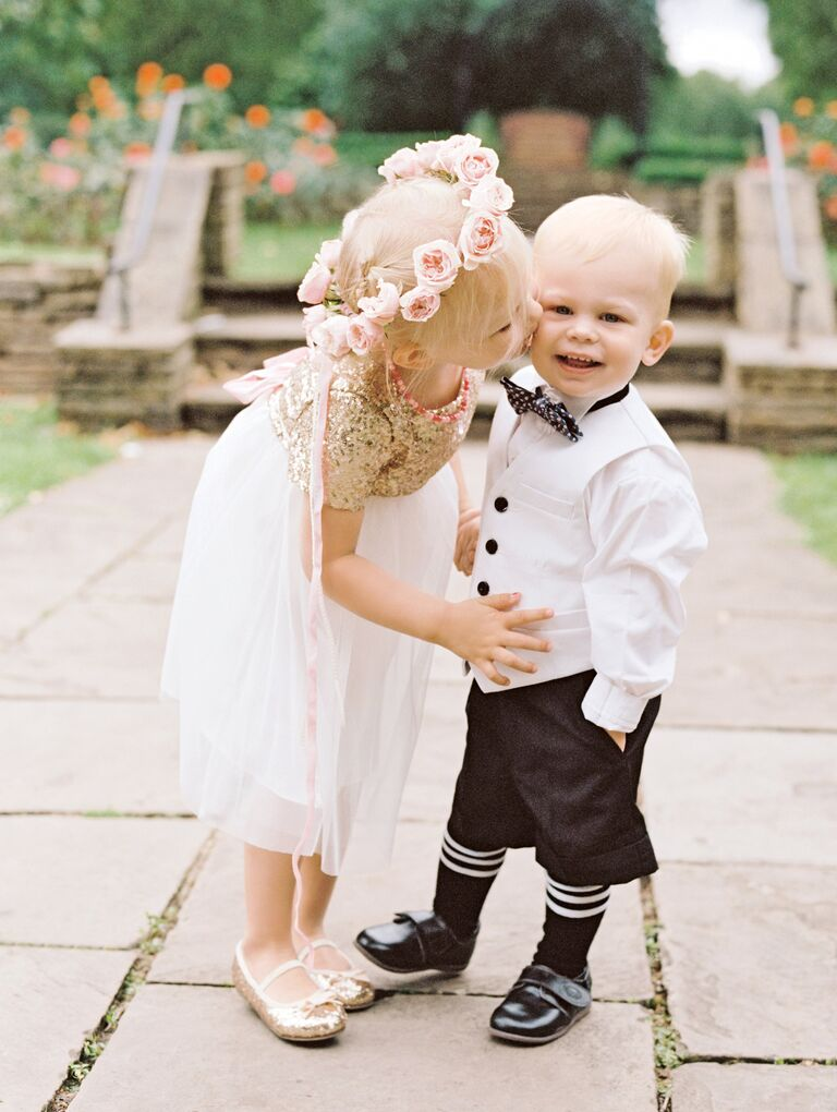 0d0ff90ab 17 of the Sweetest Flower Girls and Ring Bearers We've Ever Seen