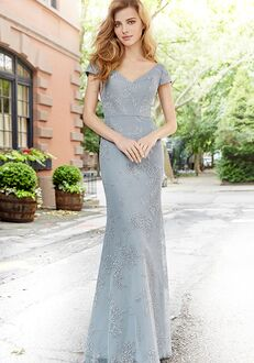 Hayley Paige Occasions 5761 V-Neck Bridesmaid Dress