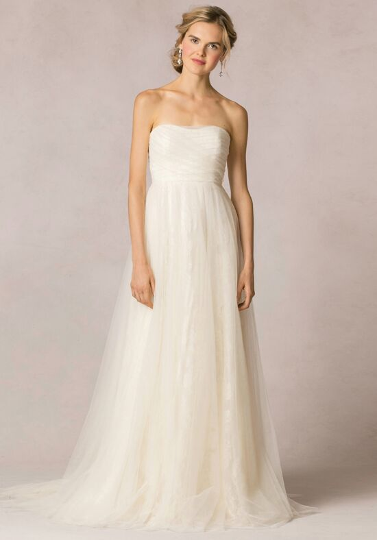 Jenny yoo collection evelyn wedding dress the knot for Wedding registry the knot