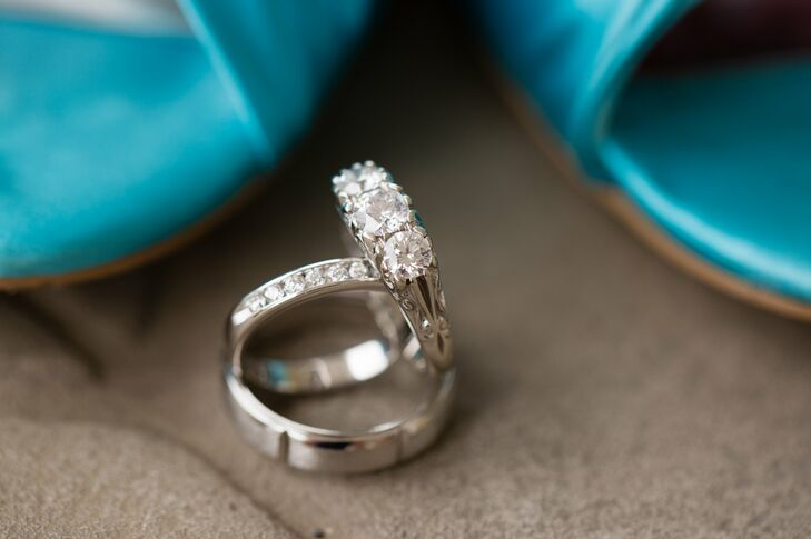 Diamond Engagement and Wedding Rings