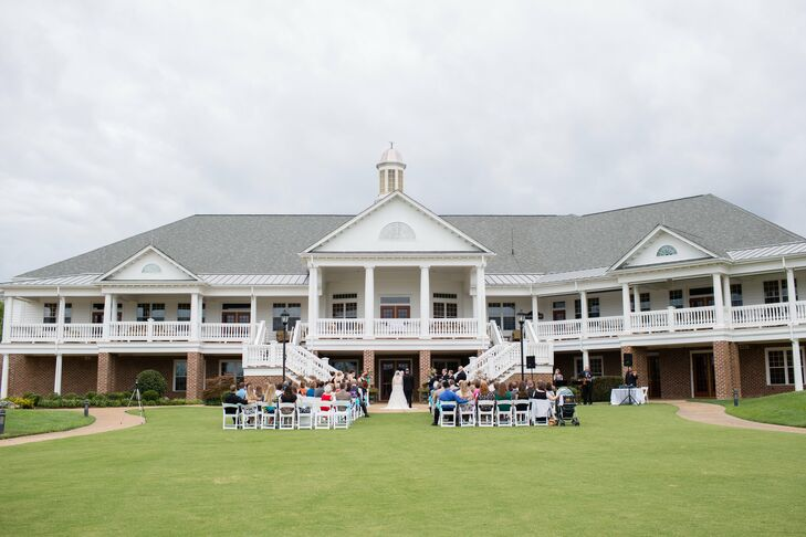 Outdoor Ceremony at Colonial Heritage