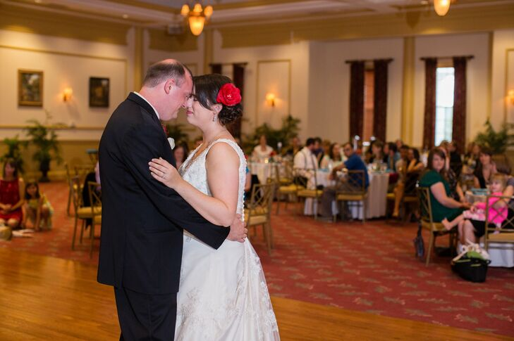 First Dance as Married Couple