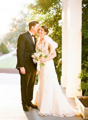 Romantic Fall Wedding Portrait