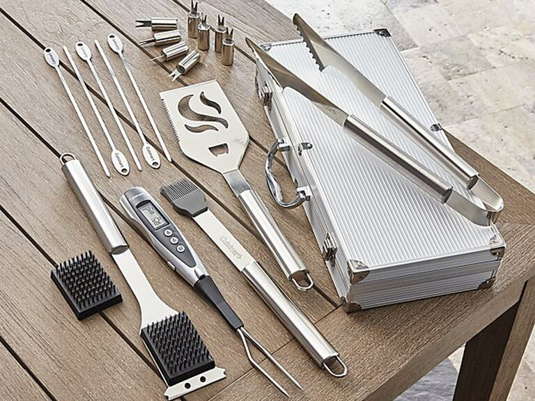 BBQ tool kit gift for father-in-law