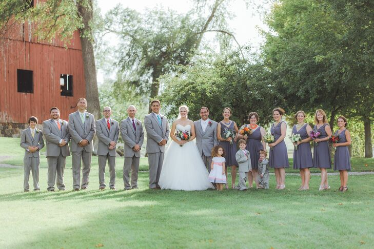 Gray Formalwear and Bridesmaid Dresses