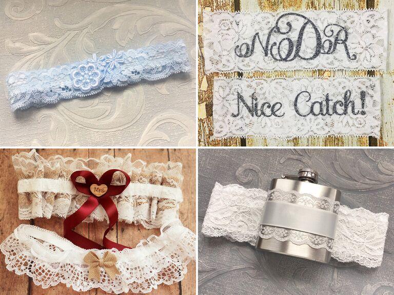 31 Unique Wedding Garters And Bridal Garter Sets