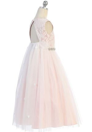 Kid's Dream Waterfall Dress Pink Flower Girl Dress