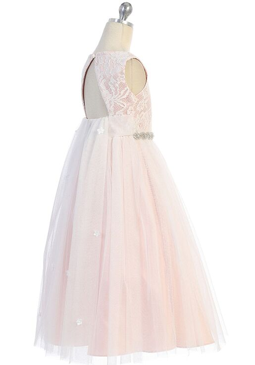 Kid's Dream Waterfall Dress Pink Flower Girl Dress