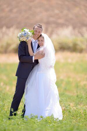 Bride and Groom at Tenuta dell'Olmo