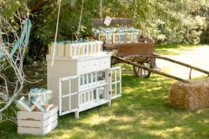 Country Chic Furniture Prop Display
