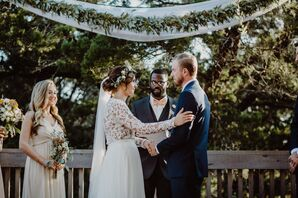 Bohemian Garden Wedding and Vows