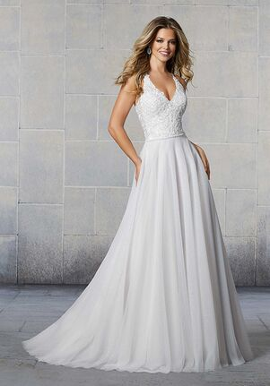 Morilee by Madeline Gardner/Voyage Starla 6928 A-Line Wedding Dress