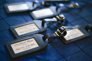 Luggage Tag Escort Cards