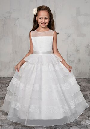 Mary's Angel by Mary's Bridal MB9004 Ivory Flower Girl Dress