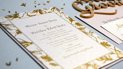 Invitations Paper In Milwaukee Wi The Knot