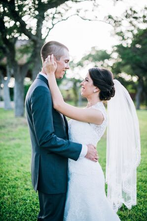 Newlywed Couple Portrait