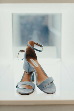 Pale Blue Steve Madden Sandals